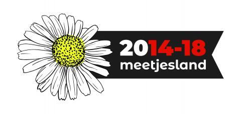 Logo madelief De Bevrijding 2014-2018
